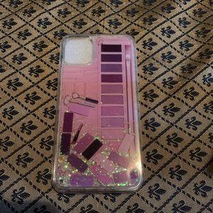 iPhone 11 Pro Max Makeup Glitter Liquid Case